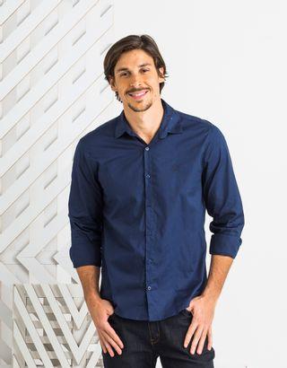 Camisa-Social-Botao-Azul-Tecido-Liso-Zinzane-012749-01