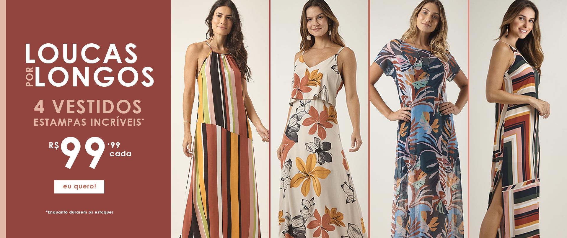 Campanha - 4 vestidos